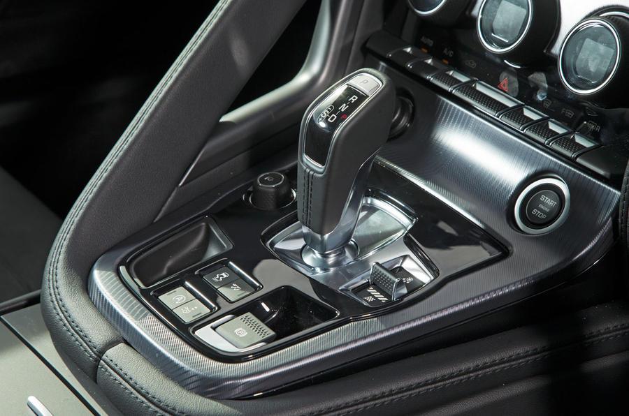 Jaguar F-Type 2.0 automatic gearbox