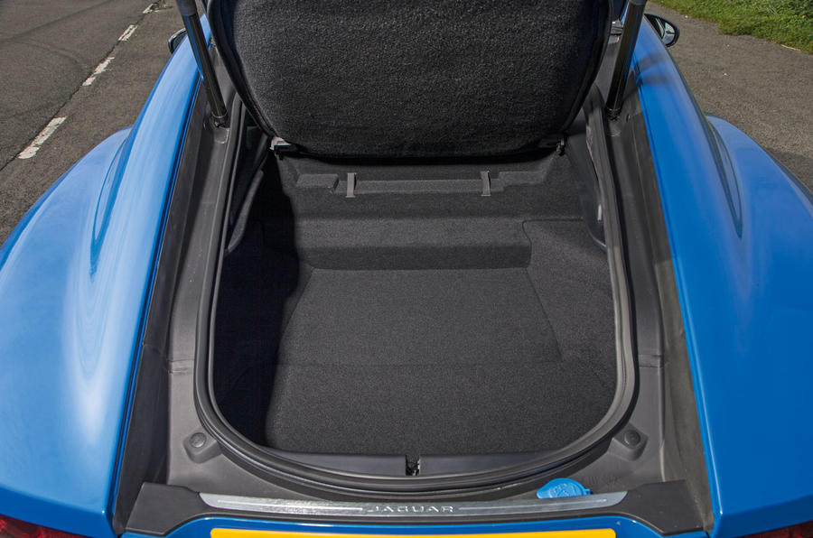 Jaguar F-Type 2.0 boot space