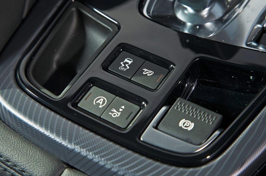 Jaguar F-Type 2.0 electronic parking brake