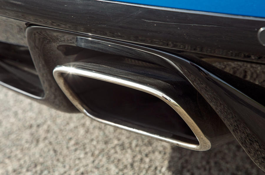 Jaguar F-Type 2.0 exhaust system