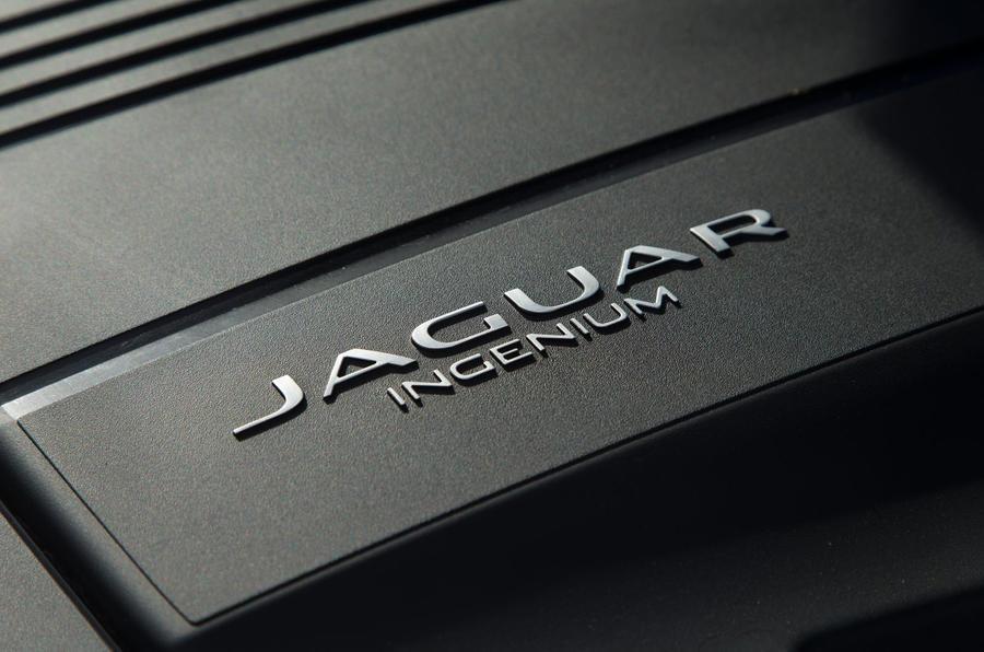 Jaguar F-Type 2.0 Ingenium engine