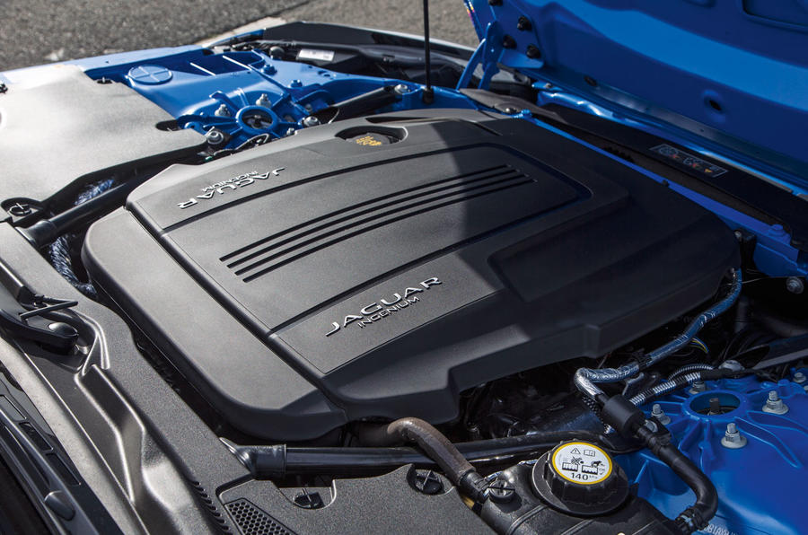2.0-litre Jaguar F-Type petrol engine