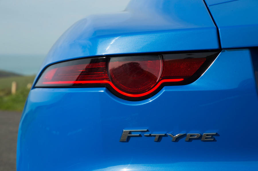 Jaguar F-Type 2.0 rear light