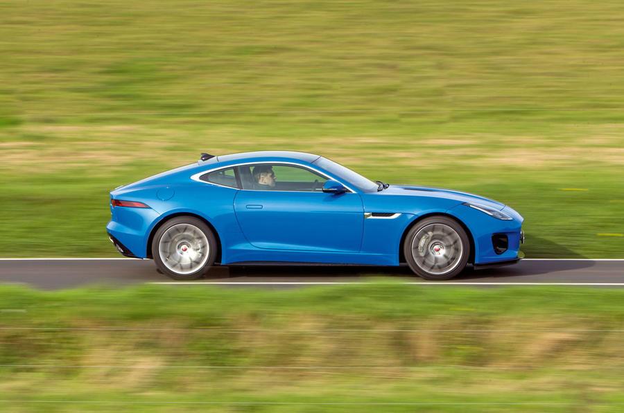 Jaguar F-Type 2.0 side profile