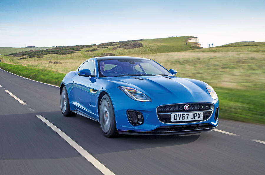 4 star Jaguar F-Type 2.0