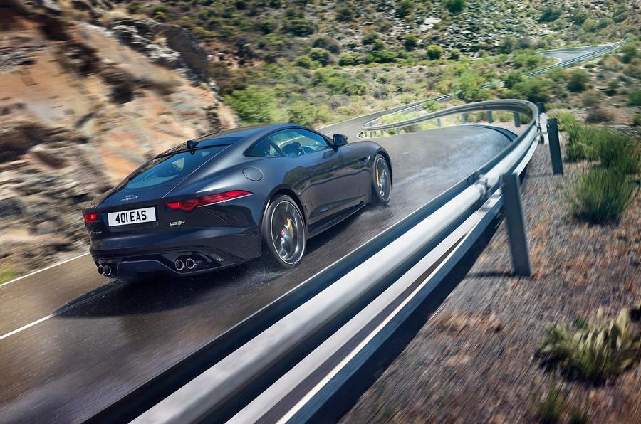Jaguar confirms manual and AWD options for MY2016 F-type