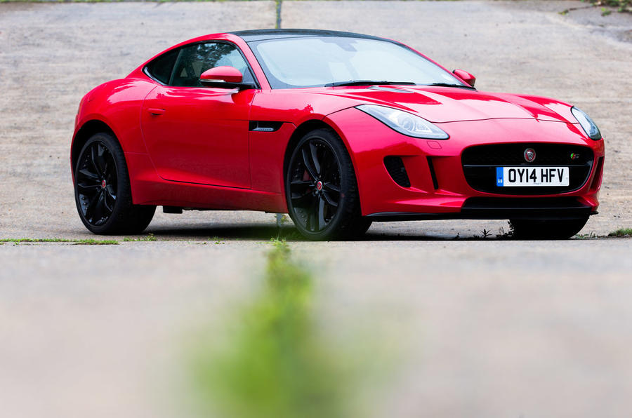 4.5 star Jaguar F-Type Coupé