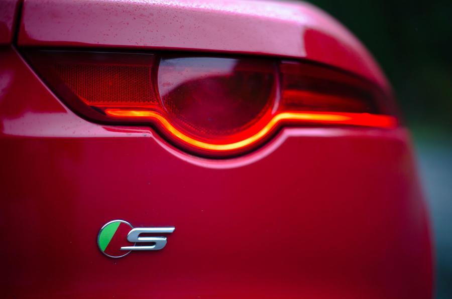 Jaguar S badging