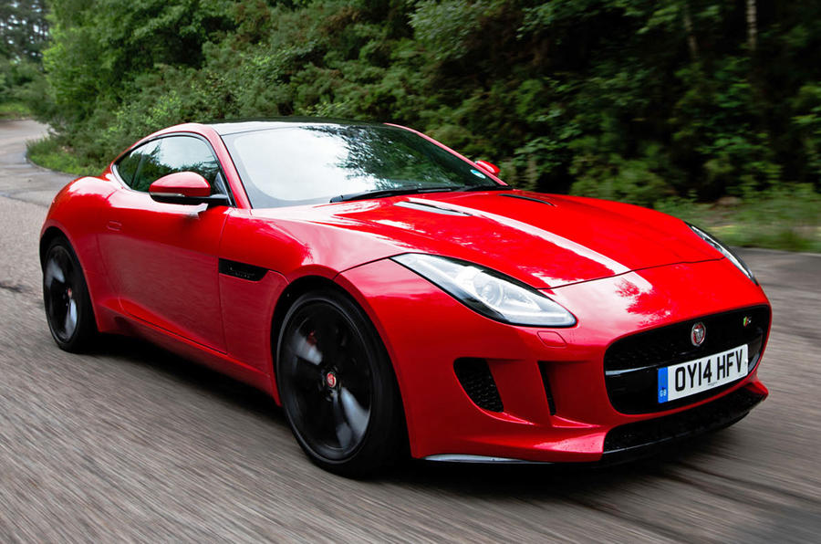 Jaguar F Type Coupe ...
