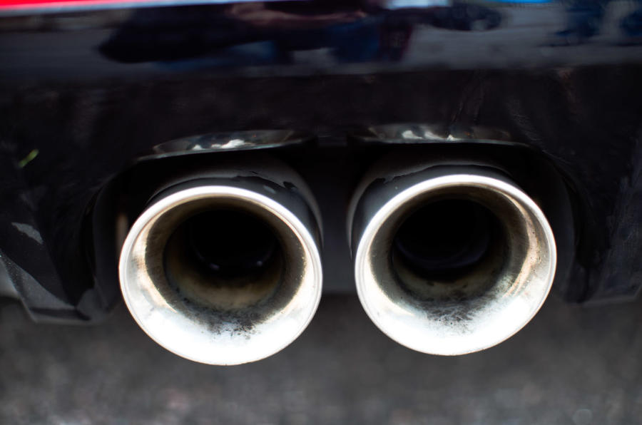 Jaguar F-Type twin exhaust