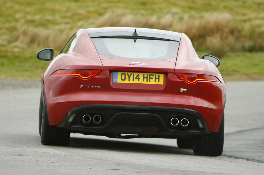 Jaguar F-Type R rear