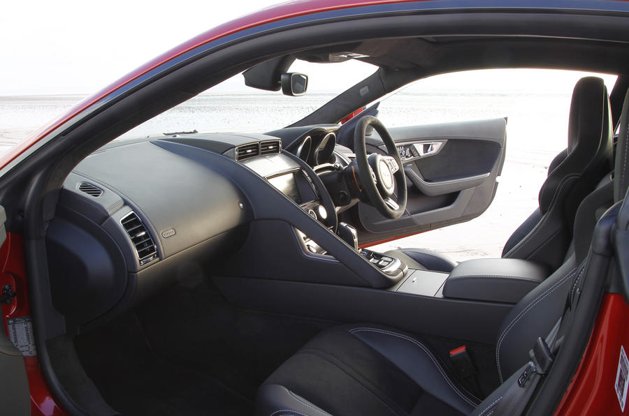 Jaguar F-Type R interior