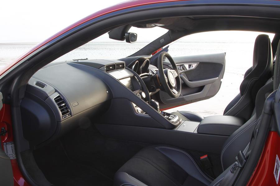Jaguar F-Type R interior