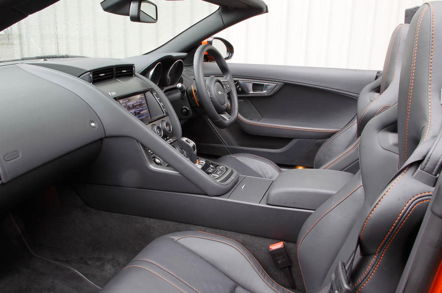 jaguar 2015 f type interior