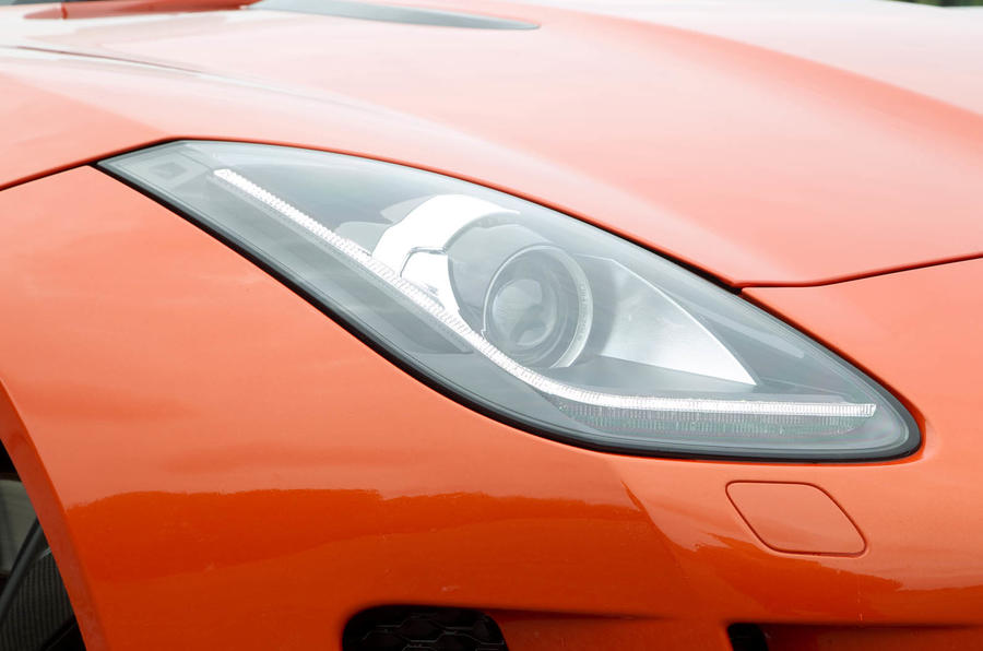 Jaguar F-Type Convertible xenon headlight