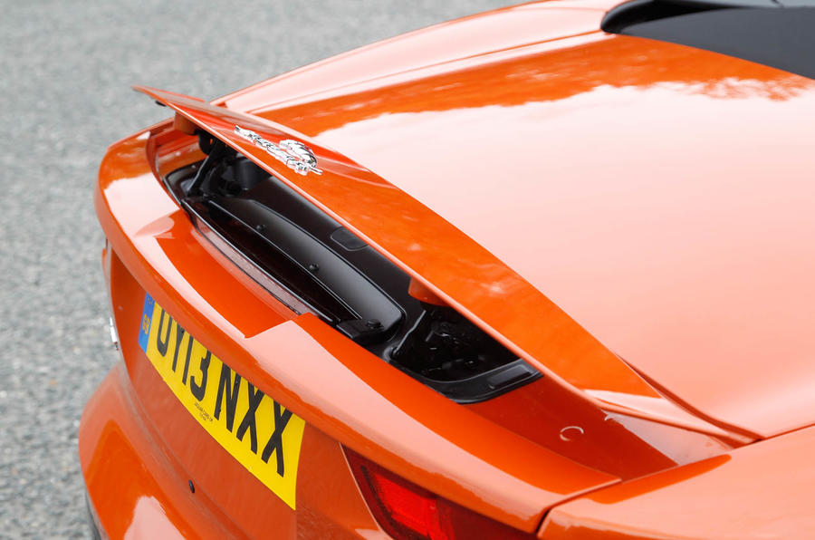 Jaguar F-Type Convertible rear wing