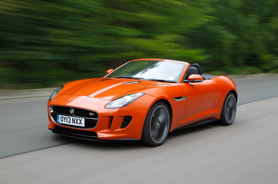 Jaguar F-Type Convertible front quarter