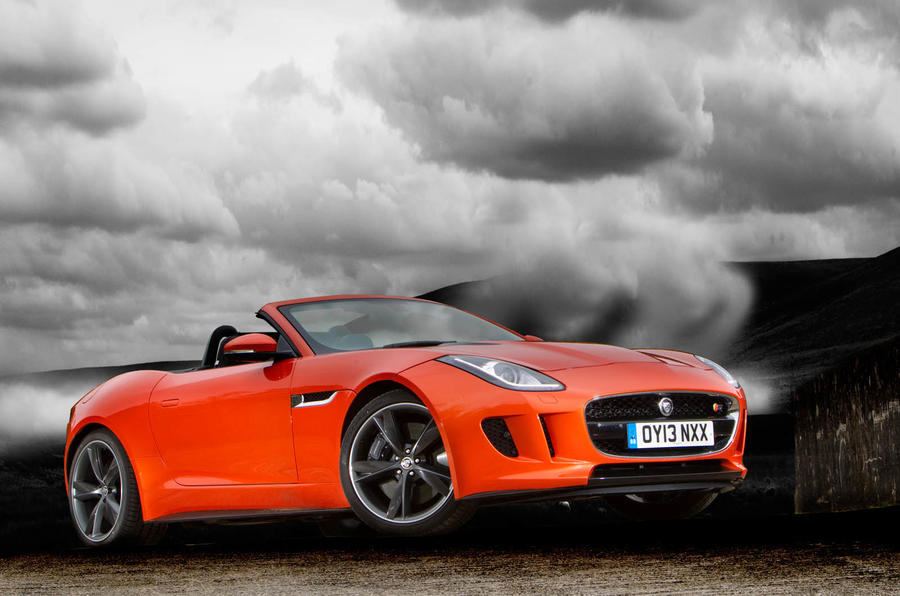 4 star Jaguar F-Type Convertible