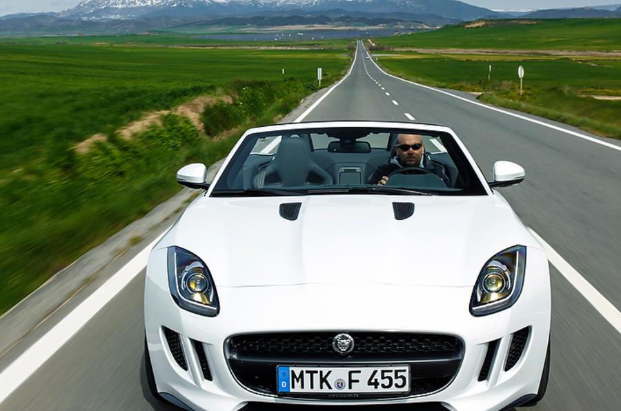 Jaguar F-type V6 front end