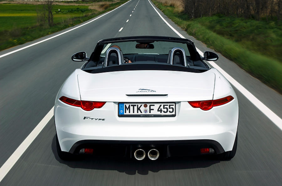 Jaguar F-type V6 first drive review