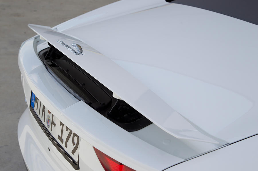 Jaguar F-type V6 S rear spoiler