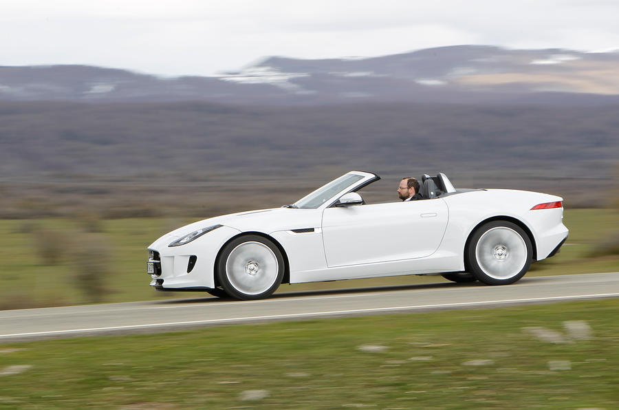 £67,500 Jaguar F-type V6 S