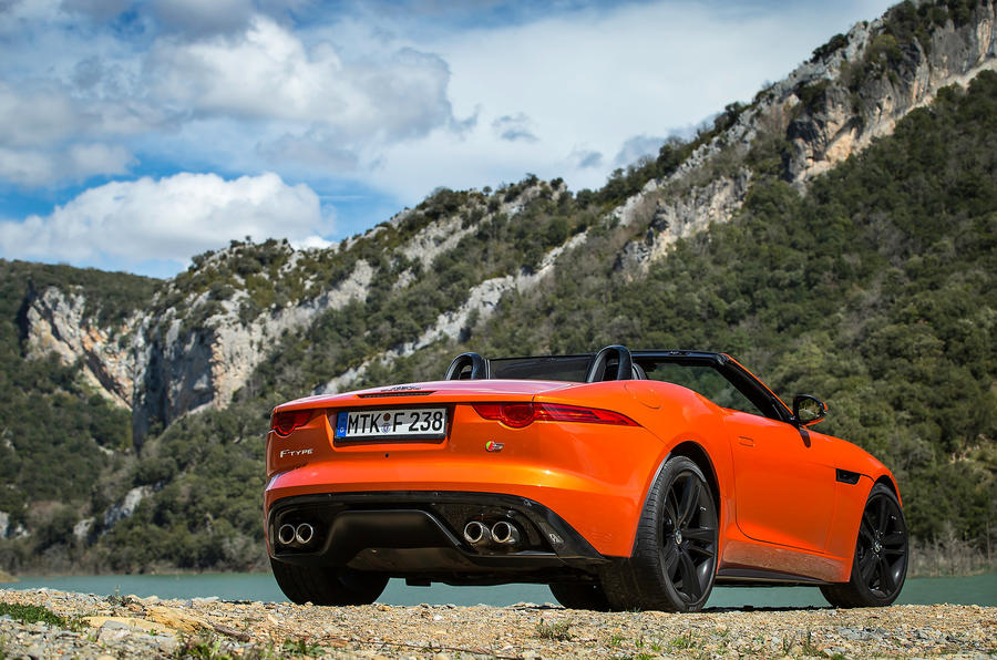 Jaguar F Type V8 S First Drive Review