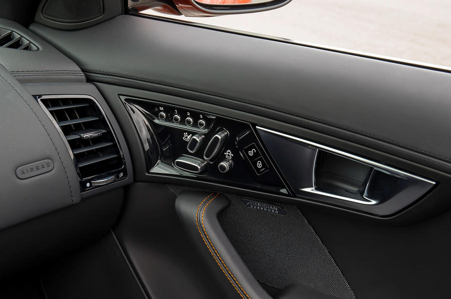Jaguar F-type V8 S door cards