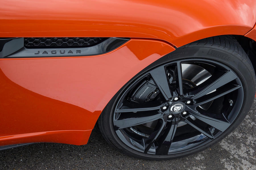 20in Jaguar F-type V8 S alloys