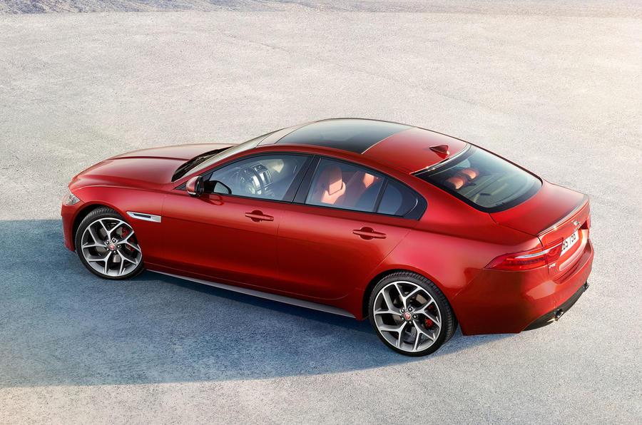 2015 jaguar xe pricing specification and engines. Black Bedroom Furniture Sets. Home Design Ideas