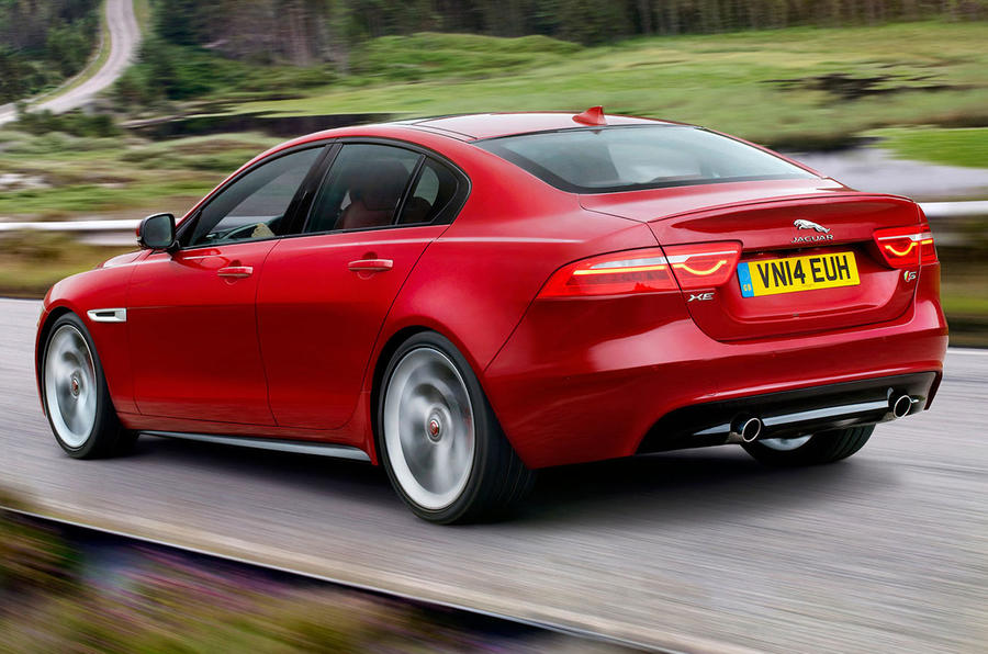 Jaguar XE revealed ahead of 2015 launch