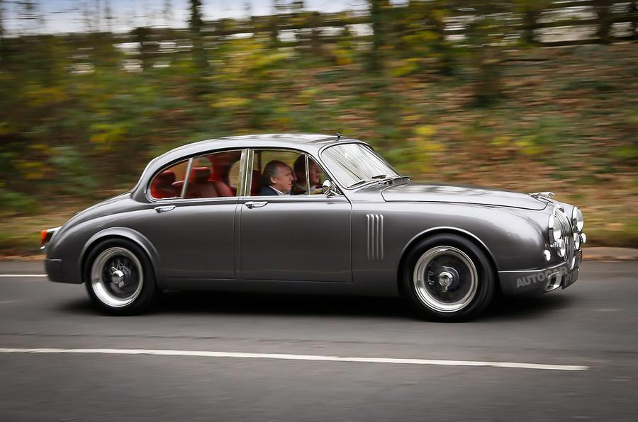 ian callum s jaguar mark 2 driven picture special autocar. Black Bedroom Furniture Sets. Home Design Ideas