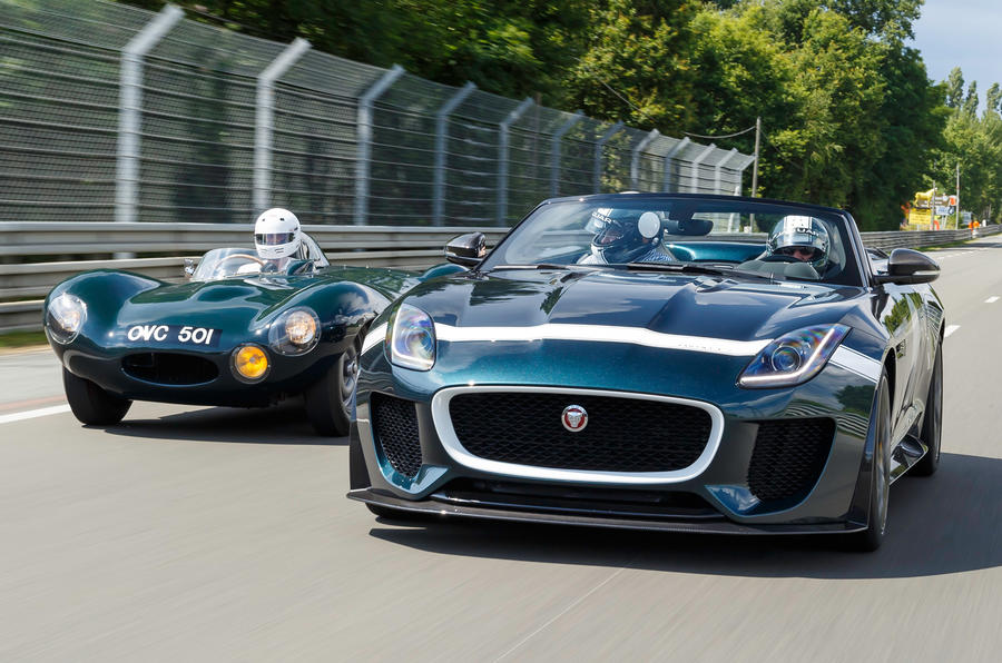 My own 24 minutes at Le Mans Classic in the Jaguar F-type Project 7