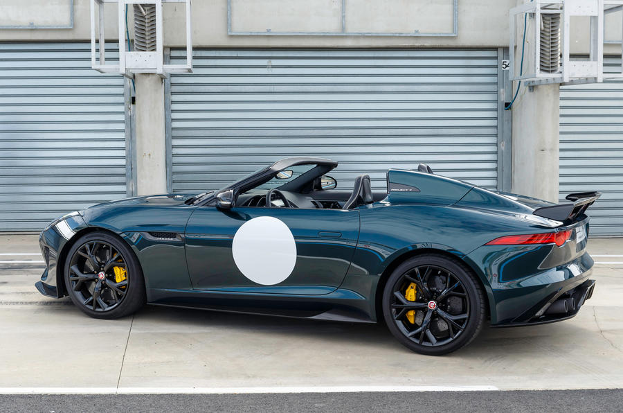 Jaguar F Type Project 7 First Ride Review