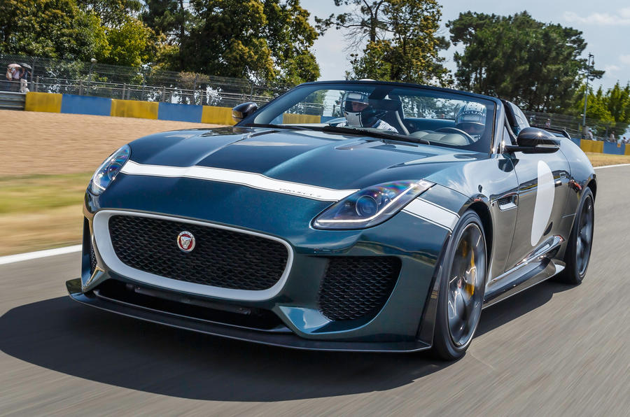 Jaguar F-type Project 7 sold out in the UK