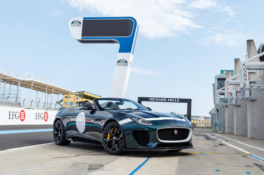 Jaguar confirms new limited-edition models to follow F-type Project 7
