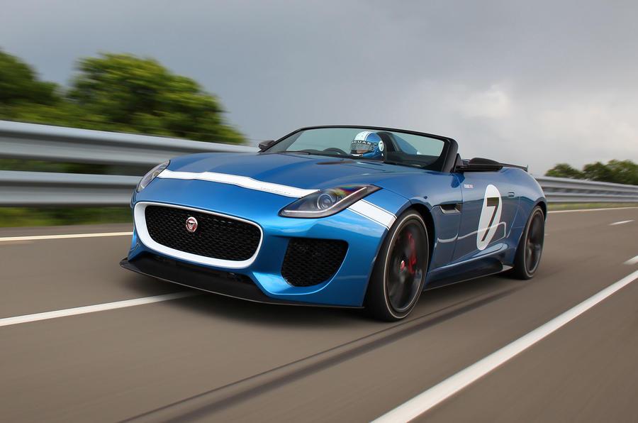 186mph Jaguar Project 7