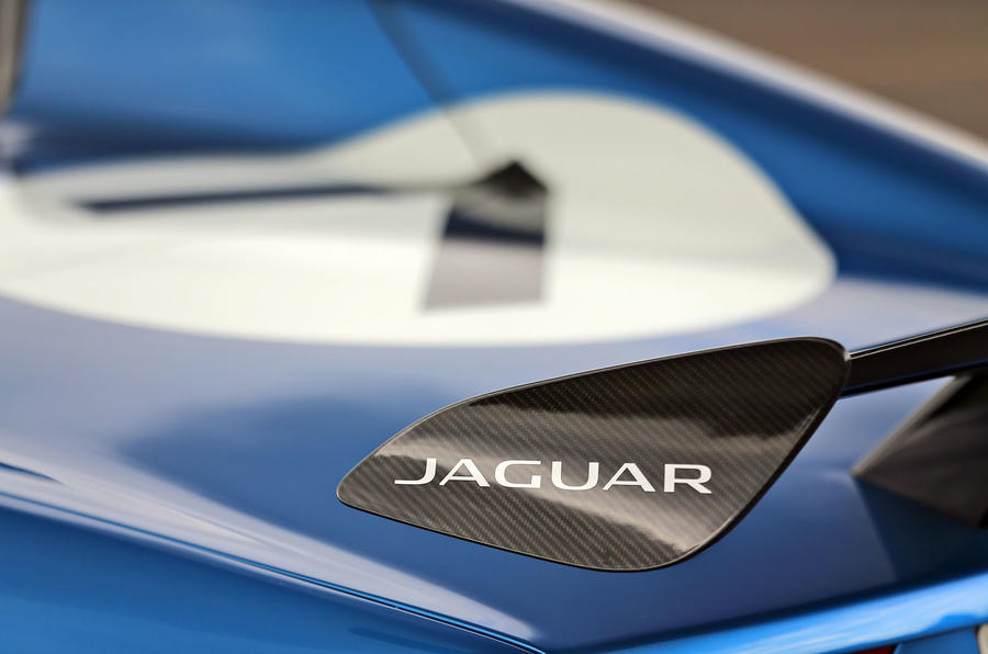 Jaguar Project 7 rear wing
