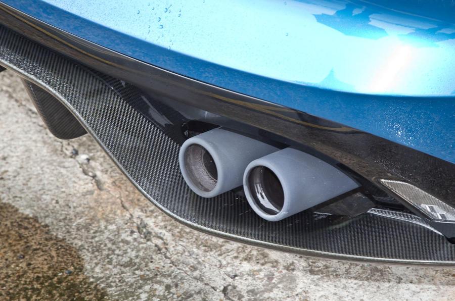 Jaguar Project 7 quad-exhaust