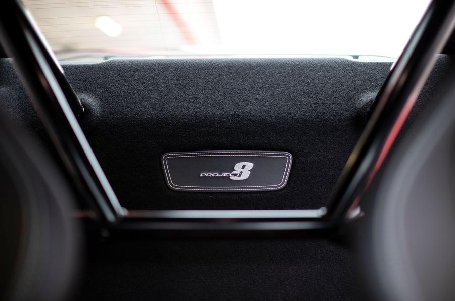 Jaguar XE SV Project 8 2018 road test review plaque