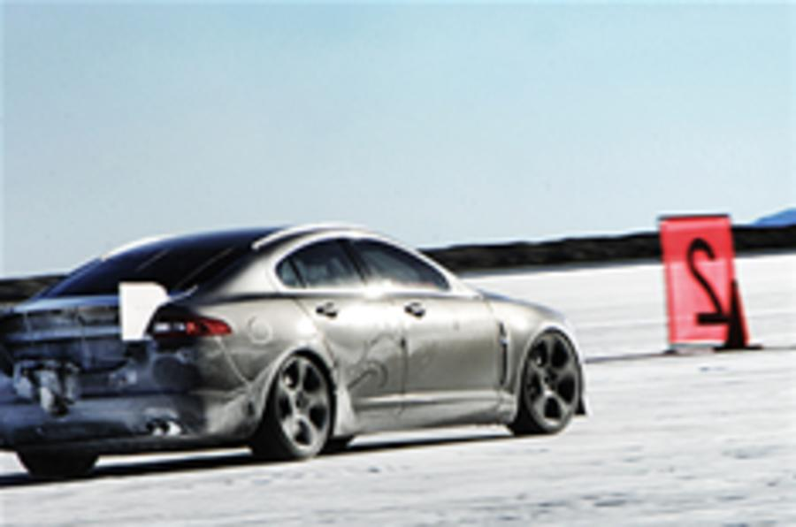 Jaguar XFR tops 225mph