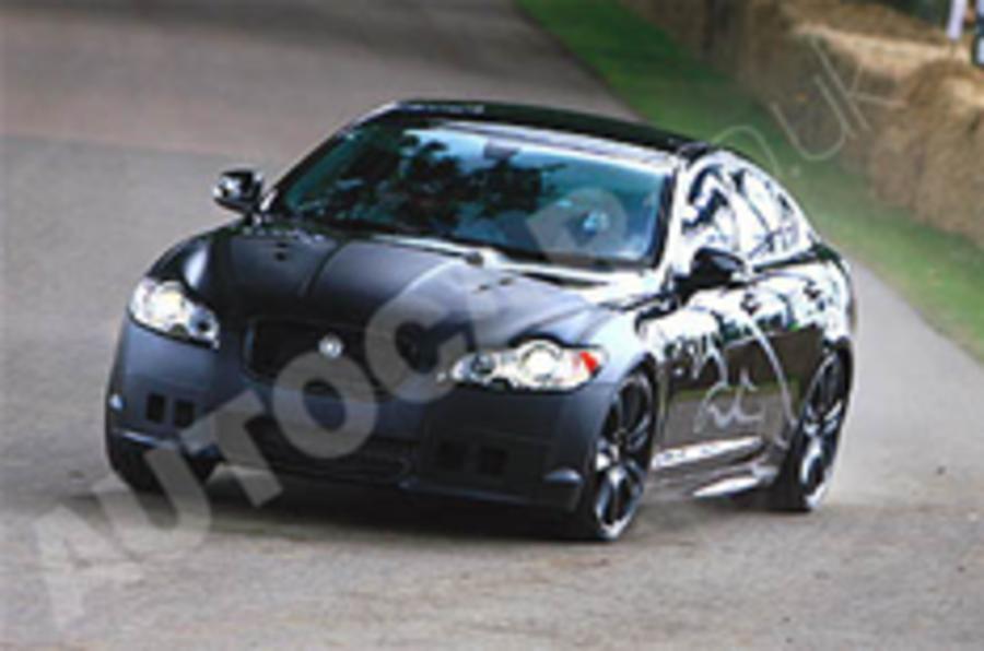 Jaguar XFR for Detroit