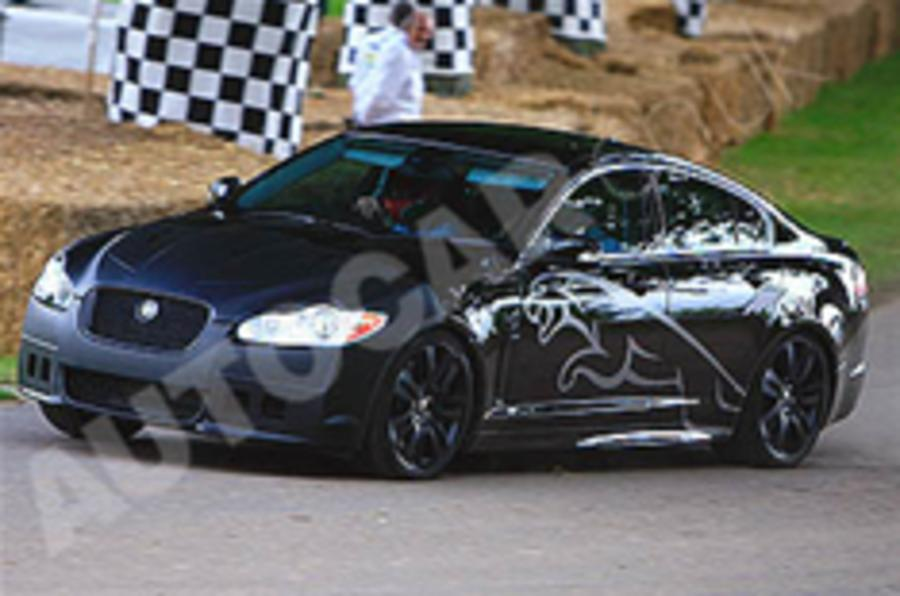 Jaguar XFR stars at Goodwood