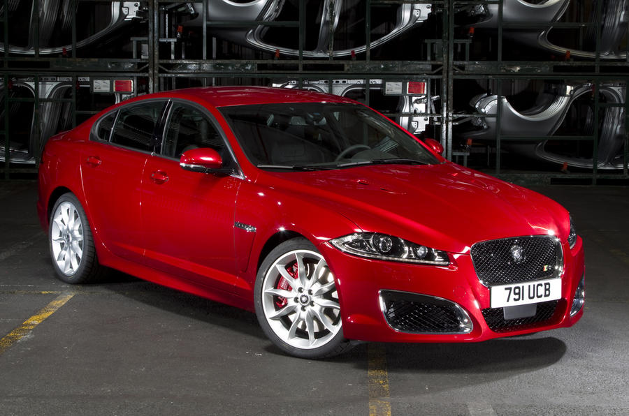 New York motor show: new Jaguar XF