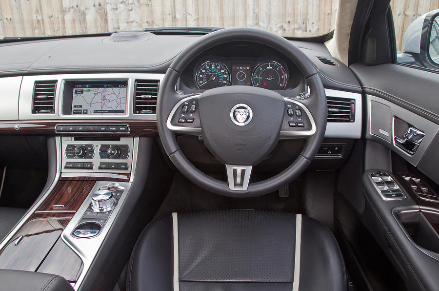 For sheer appeal the jaguar xf interior stands above its opposition