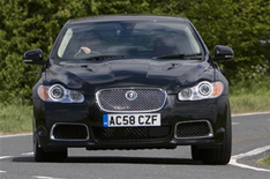 Jaguar XF tops sales chart