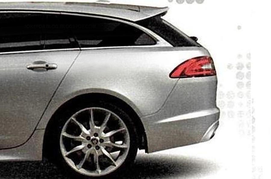 Jaguar XF Sportbrake: leaked pics