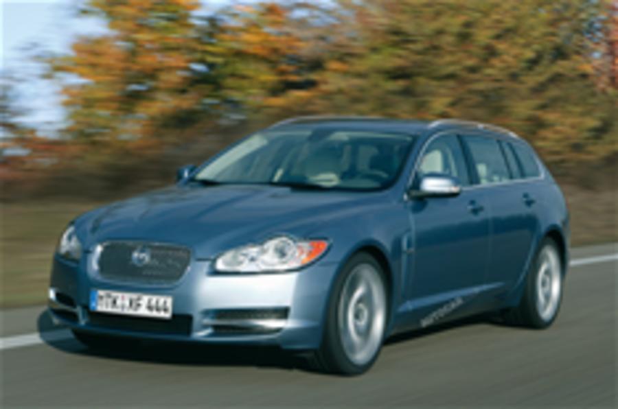 Jaguar XF Estate is back on