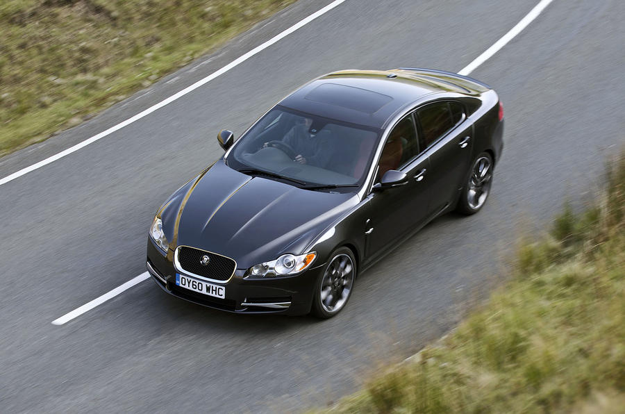 Jaguar's new XF styling pack