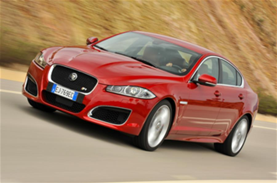 Jaguar plots hot XFR-S